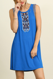 Umgee USA Sleeveless Dress - Front cropped