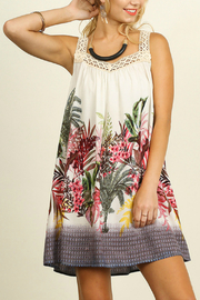 Umgee USA Sleeveless Floral Dress - Product Mini Image