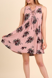 Umgee USA Sleeveless Floral Print - Front cropped