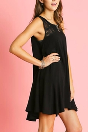 Umgee USA Sleeveless Ruffle Dress - Side cropped