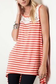 Umgee USA Sleeveless Striped Tank - Product Mini Image