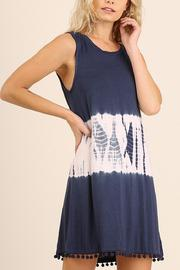 Umgee USA Sleeveless Tye Dye Dress - Product Mini Image
