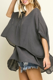 Umgee USA Soft Layered Tunic - Product Mini Image
