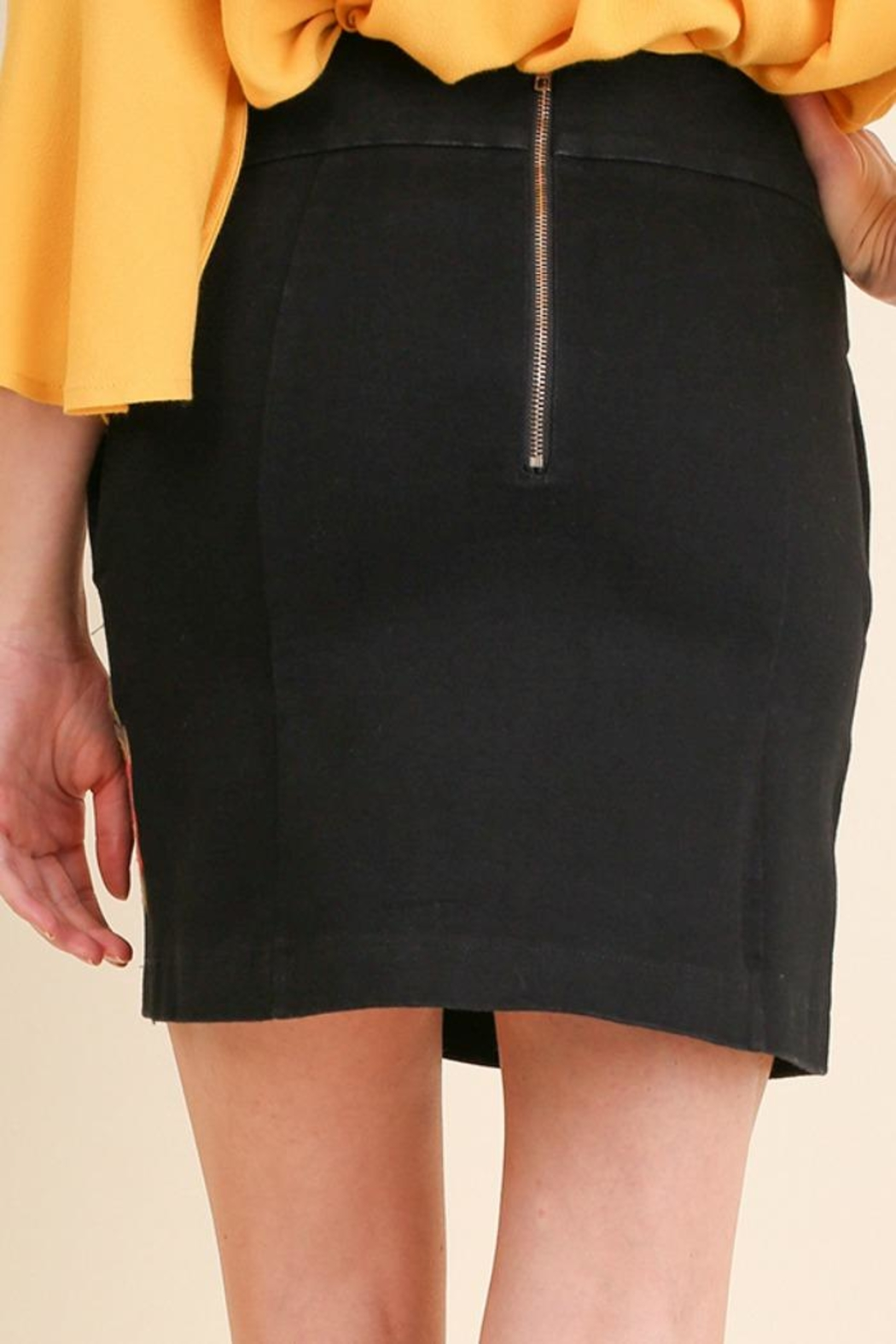 Umgee USA Salli Skirt - Front Full Image