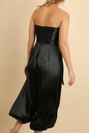 Umgee USA Strapless Metallic Jumpsuit - Side cropped