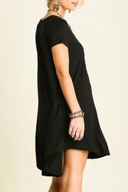 Umgee USA Short Sleeve Dress - Front cropped