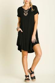Umgee USA Short Sleeve Dress - Front full body