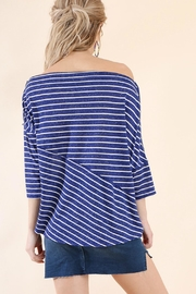 Umgee USA Stripes Away Top - Side cropped