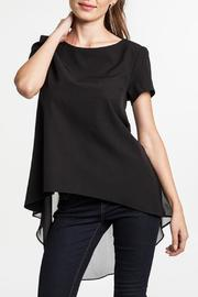 Umgee USA Structured Asymmetrical Top - Product Mini Image