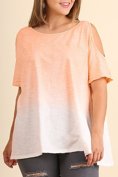 Umgee USA Sunset Cold Shoulder Top - Product List Image