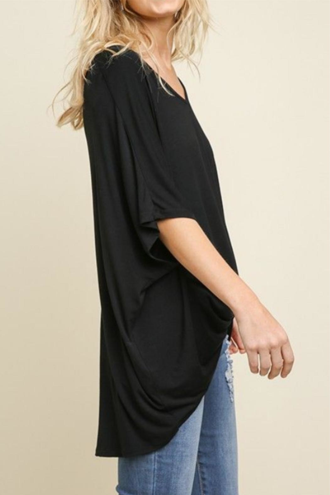 Umgee USA Surplice Top - Front Full Image