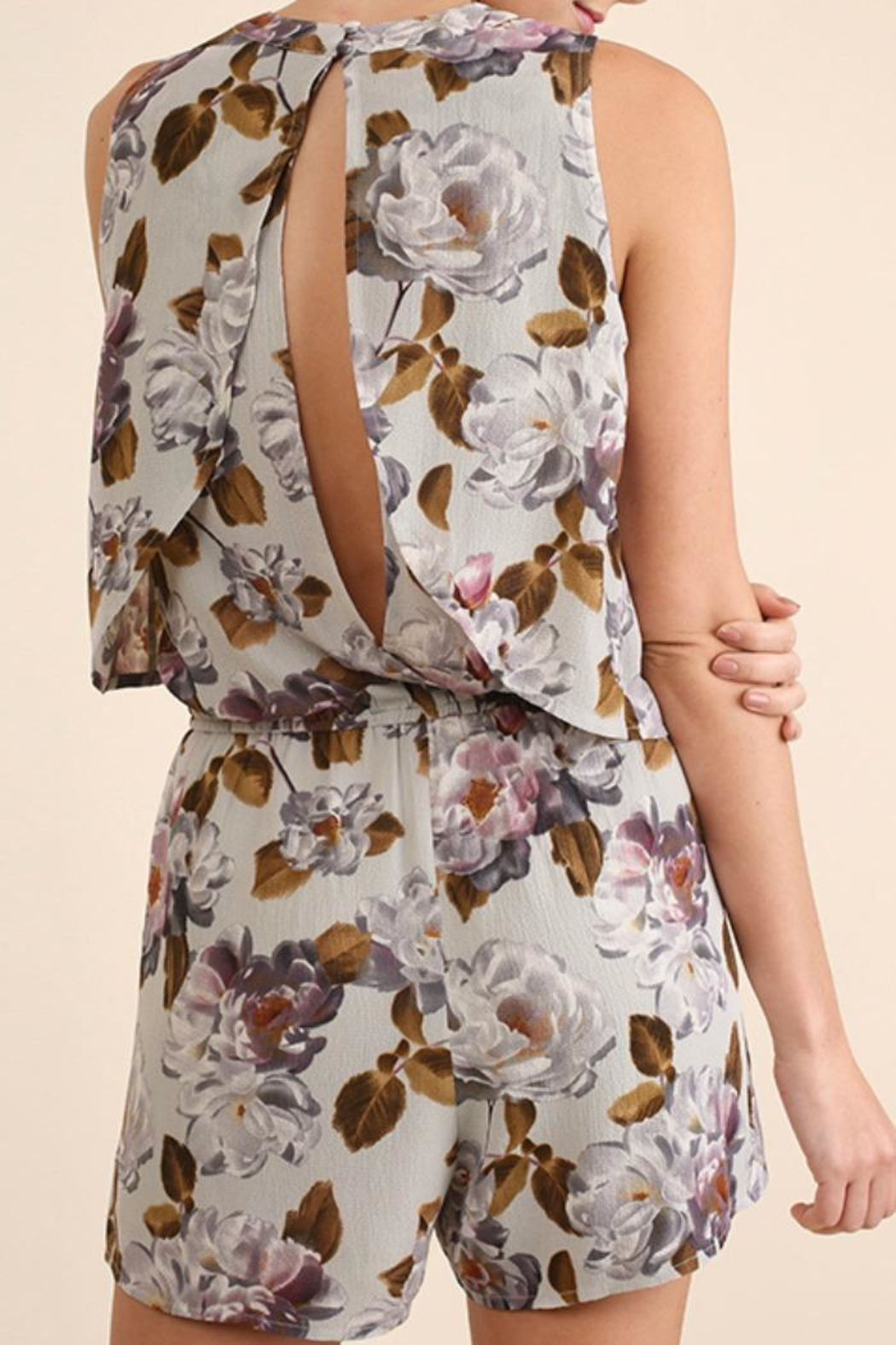 Umgee USA Switch It Up Romper - Front Full Image