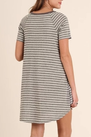 Umgee USA T-Shirt Dress - Side cropped