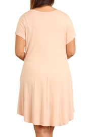 Umgee USA T-Shirt Dress - Front full body