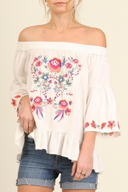 Umgee USA Talk Flirty Top - Product Mini Image