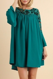 Umgee USA Teal Dress - Front cropped