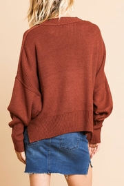 Umgee USA The Brooke Sweater - Front full body