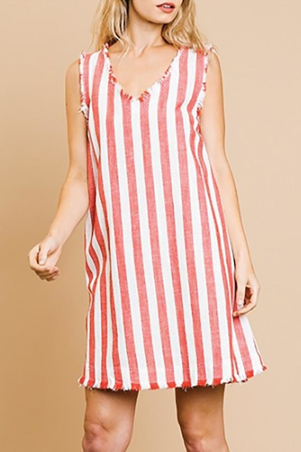 Umgee USA The Maxwell Dress - Front Full Image