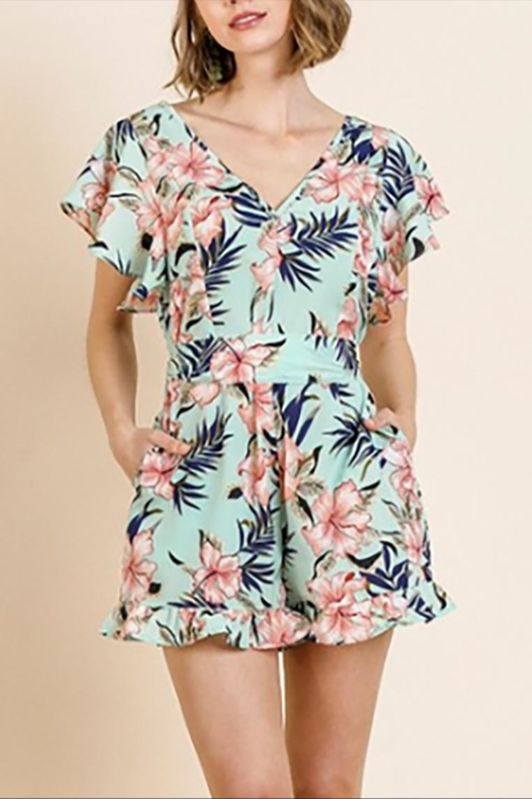 Umgee USA The Mimi Romper - Front Full Image