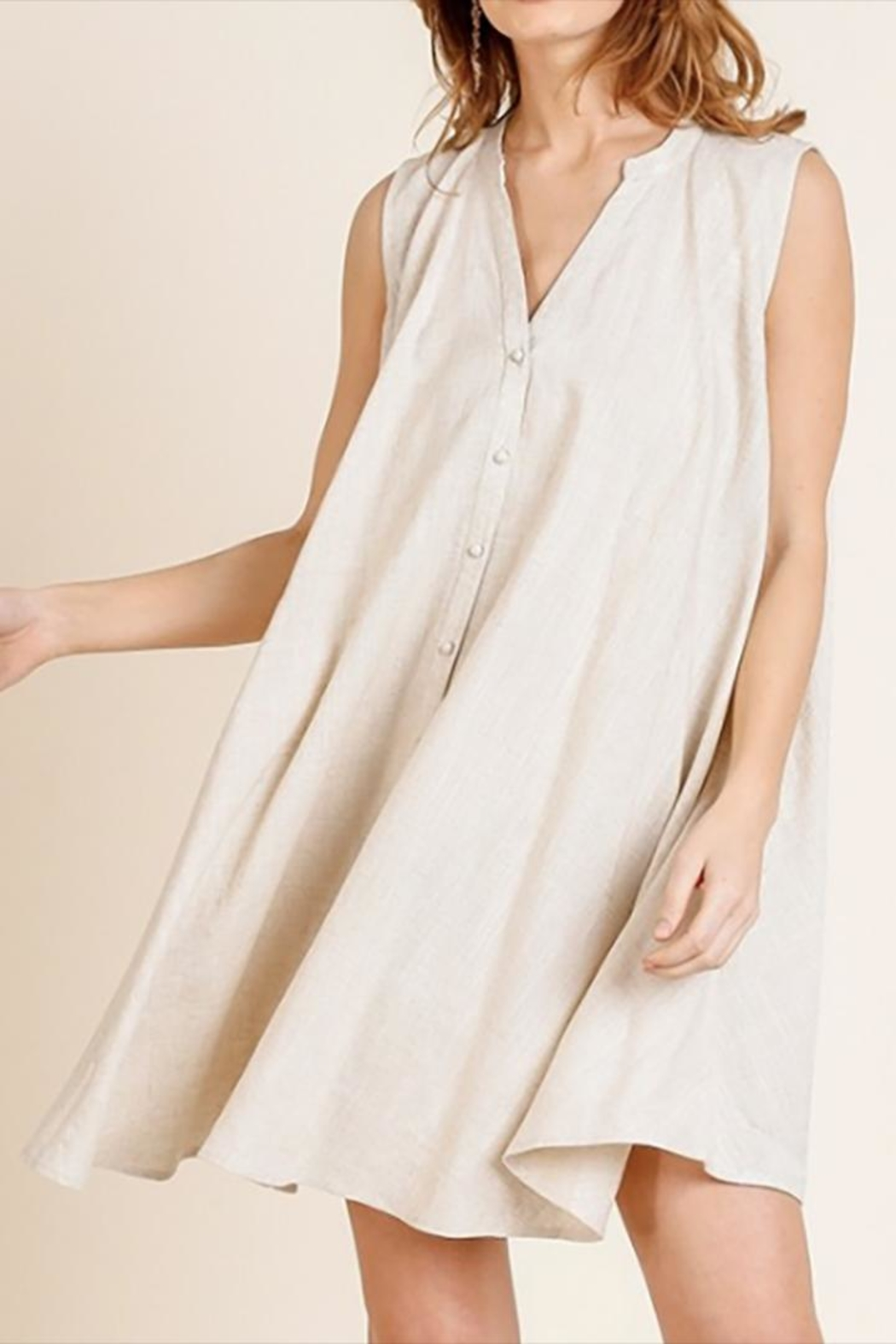 Umgee USA The Montgomery Dress - Front Full Image