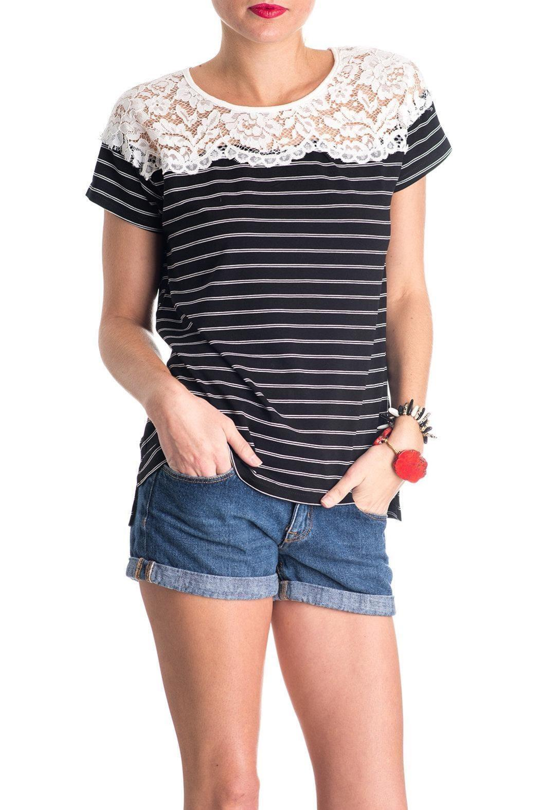 Umgee USA The Rosie Shirt - Front Cropped Image