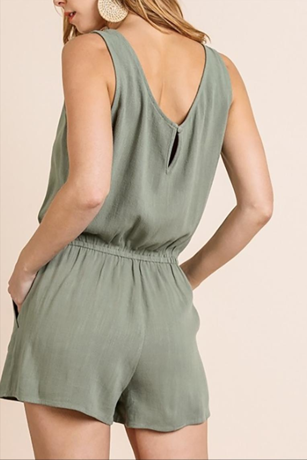 Umgee USA The Sage Romper - Side Cropped Image