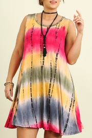 Umgee USA Tie Dye Dress - Product Mini Image
