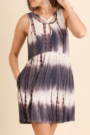 Umgee USA Tie Dye Pocket Dress - Product Mini Image