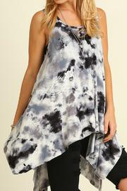 Umgee USA Tie Dye Sleeveless Tunic - Product Mini Image