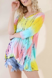 Umgee USA Tie-Dye Wendy Tunic - Front cropped