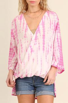 Shoptiques Product: Tie-dye Long Sleeve Top