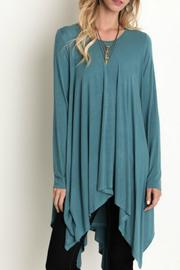 Umgee USA Trapeze Tunic Top - Front full body