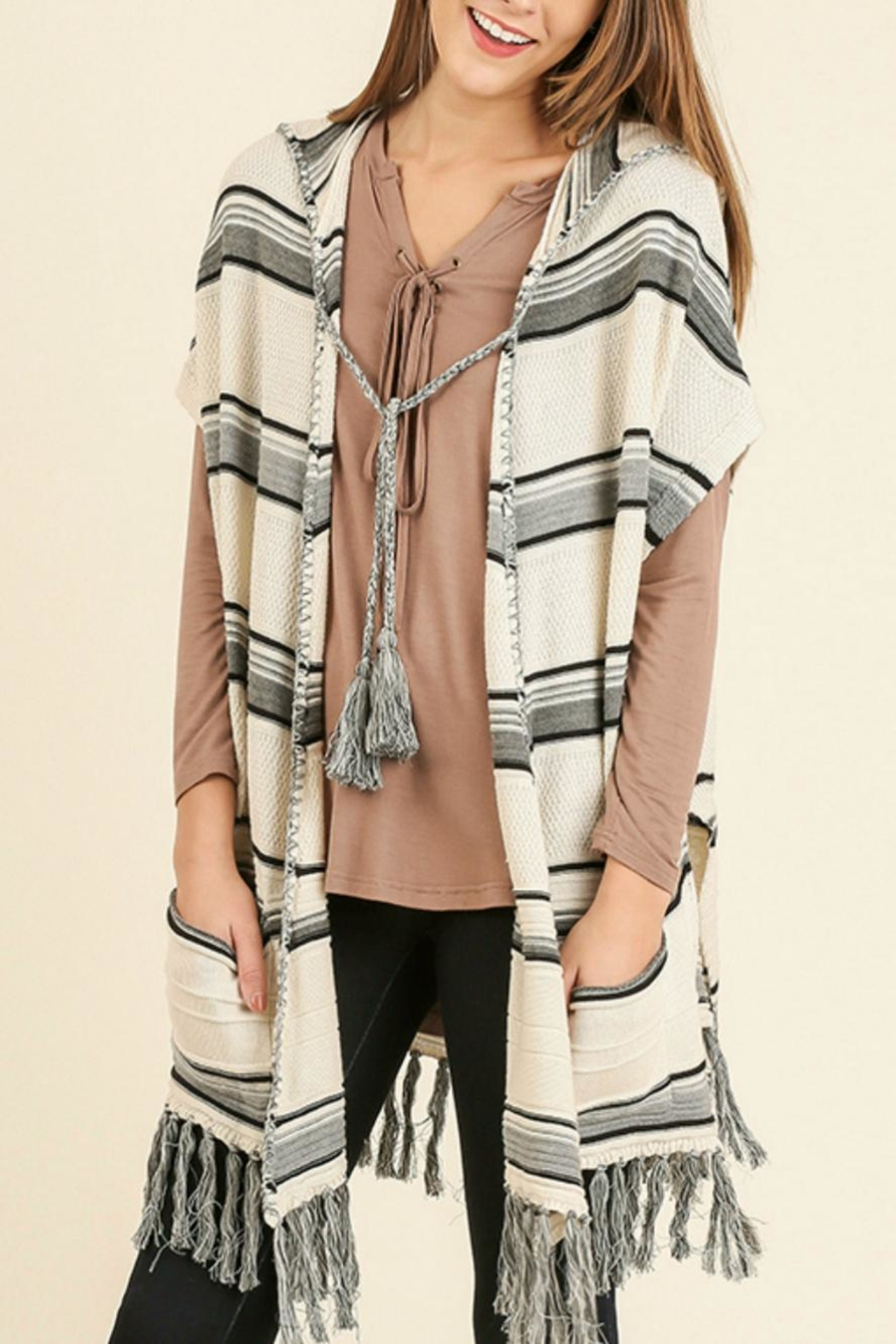 Umgee USA Tribal Hooded Cardigan from Colorado by Rock N' Roses ...