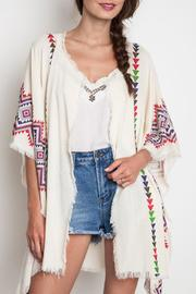 Umgee USA Tribal Print Kimono - Product Mini Image