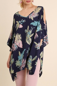 Shoptiques Product: Tropical Cold Shoulder