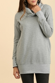 Umgee USA Tunic Sweatshirt - Product Mini Image