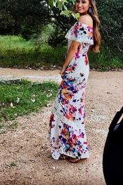 Umgee USA Floral Maxi - Side cropped