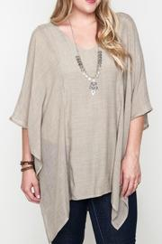 Umgee USA V-Neck Caftan - Side cropped