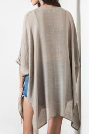 Umgee USA V-Neck Caftan - Front full body