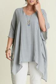 Umgee USA V-Neck Caftan - Front cropped