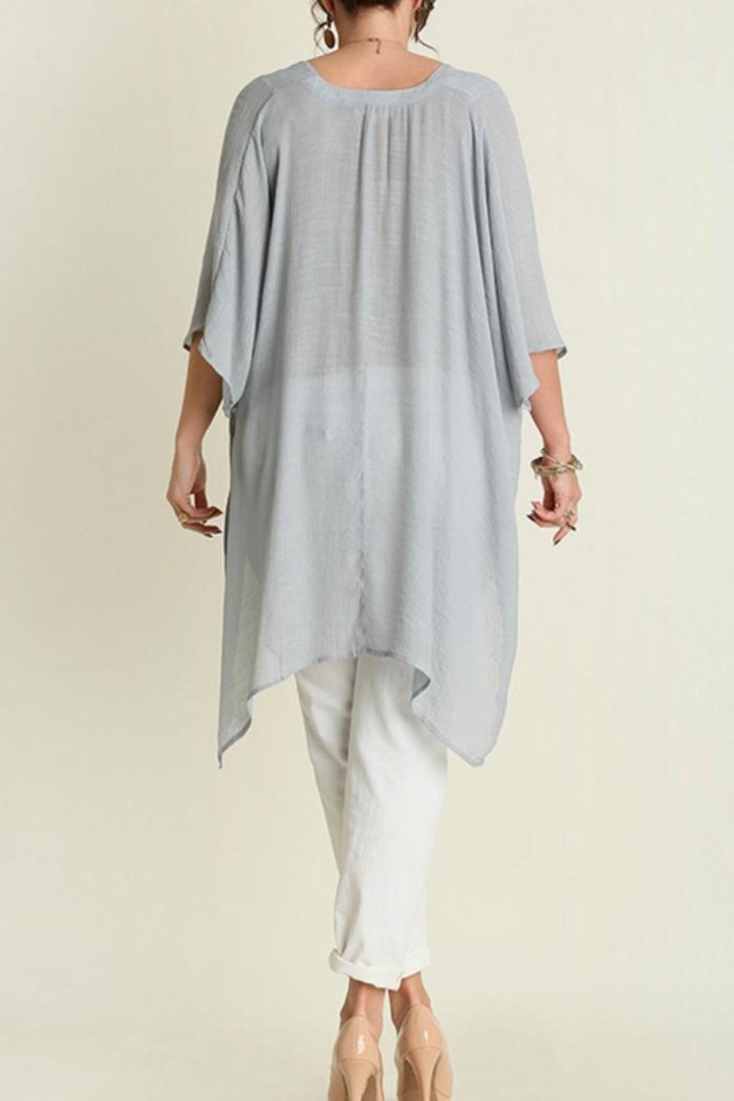 Umgee USA V-Neck Caftan - Side Cropped Image