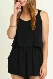Umgee USA V Neck Romper - Product Mini Image
