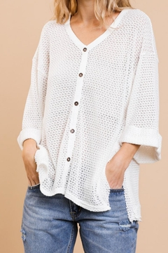 Shoptiques Product: Waffle Knit Topper