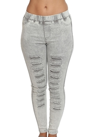 Umgee USA Washed Ripped Pants - Front cropped