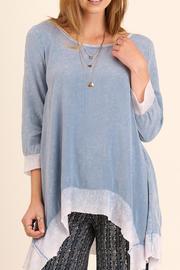 Umgee USA Washed Shakrbite Tunic - Product Mini Image
