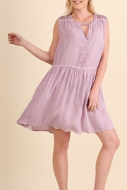 Umgee USA Washed Sleeveless Dress - Product Mini Image
