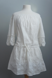 Umgee USA White Gauze Tunic - Product Mini Image