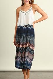 Umgee USA Wide-Leg Print Pants - Product Mini Image