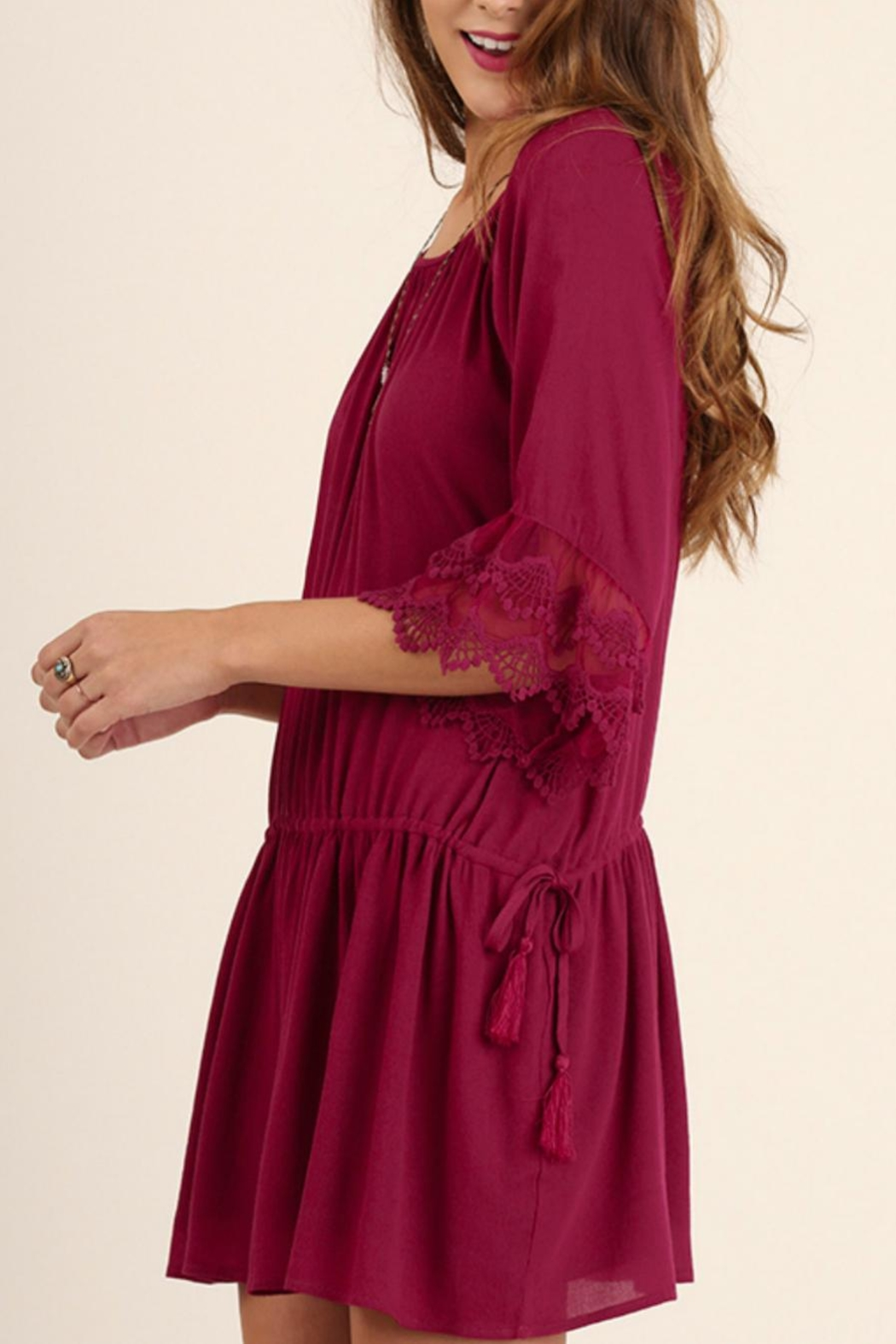 Umgee USA Lady Jane Dress - Front Full Image