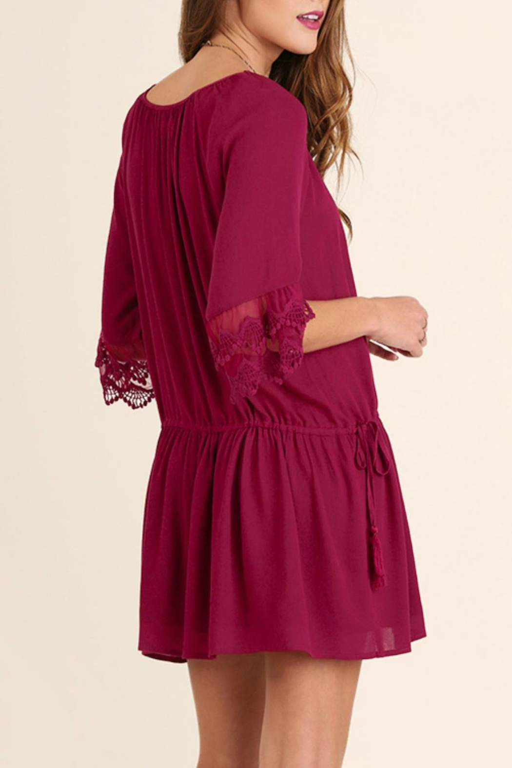Umgee USA Lady Jane Dress - Side Cropped Image